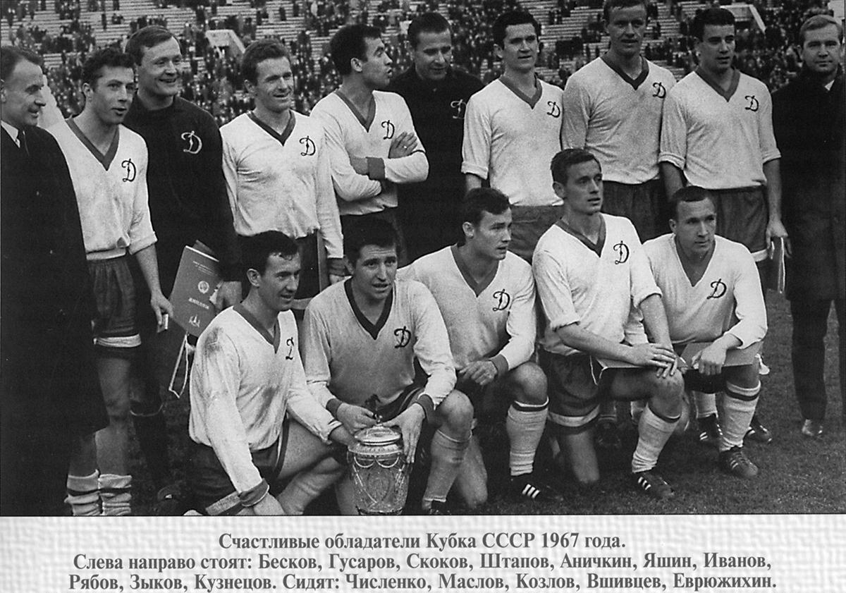 День завоевания Кубка СССР футболистами «Динамо»