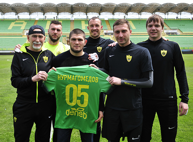 Хабиб Нурмагомедов встретился с «Анжи»