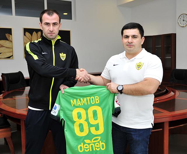 Хасан Мамтов подписал контракт с «Анжи»