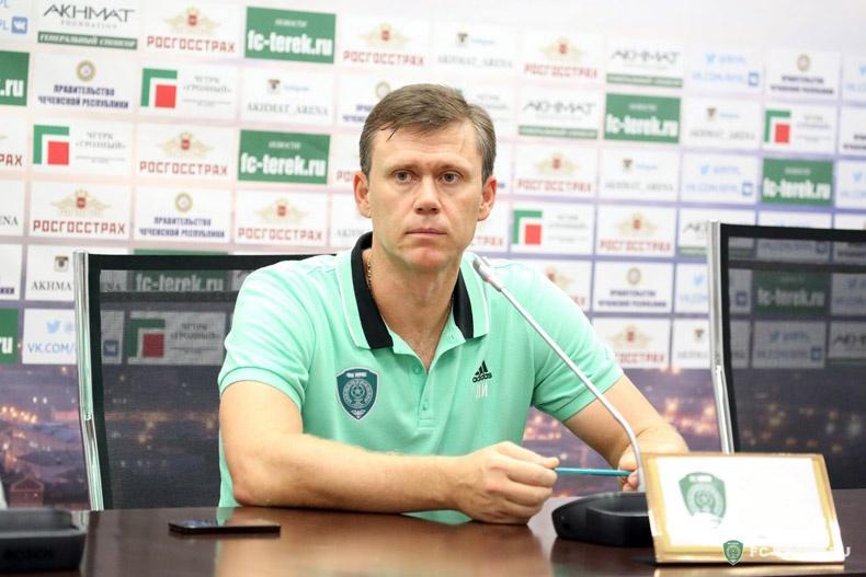 Игорь Ледяхов назначен старшим тренером ФК «Ахмат»