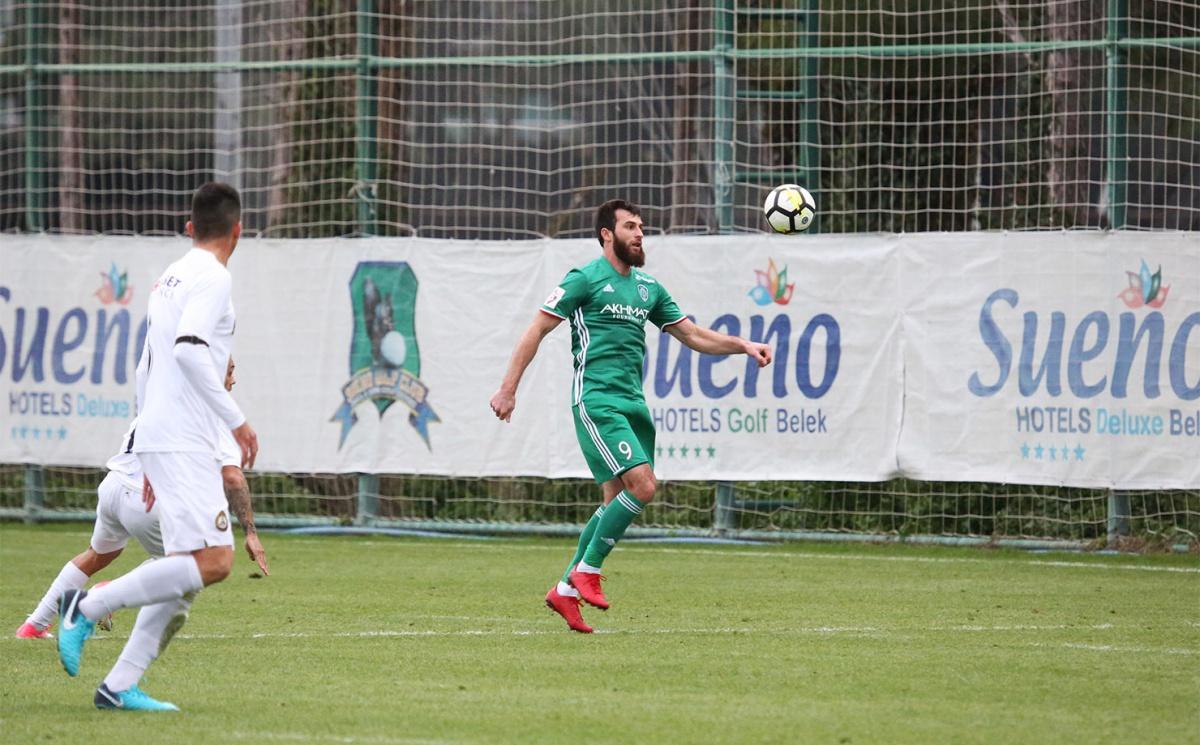 «Ахмат» одержал победу над «Славией» в товарищеском матче