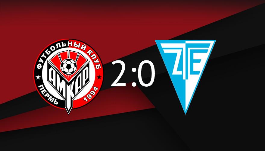 Третья победа «Амкара» в Австрии