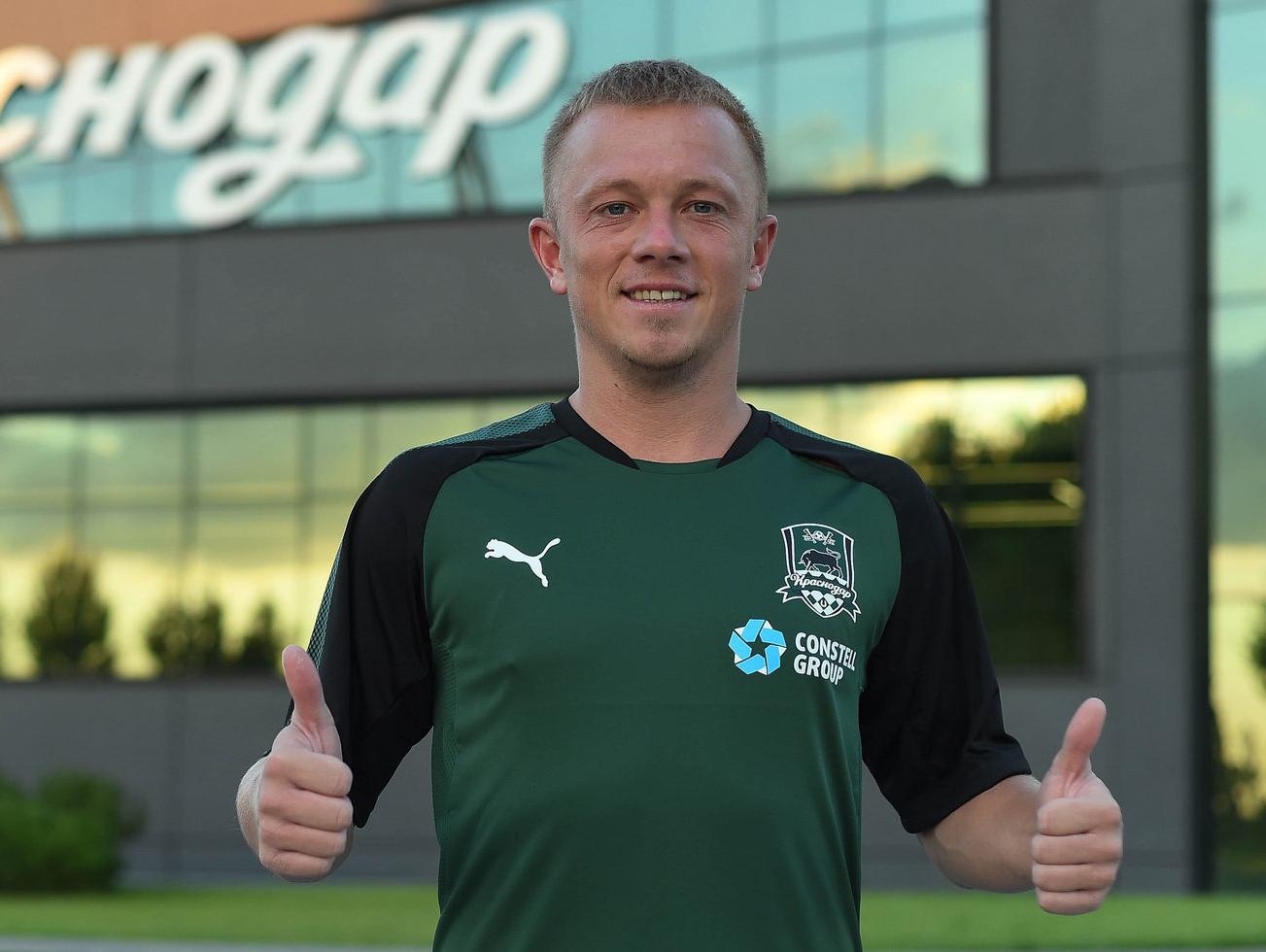 Ренат Янбаев перешел в «Краснодар»