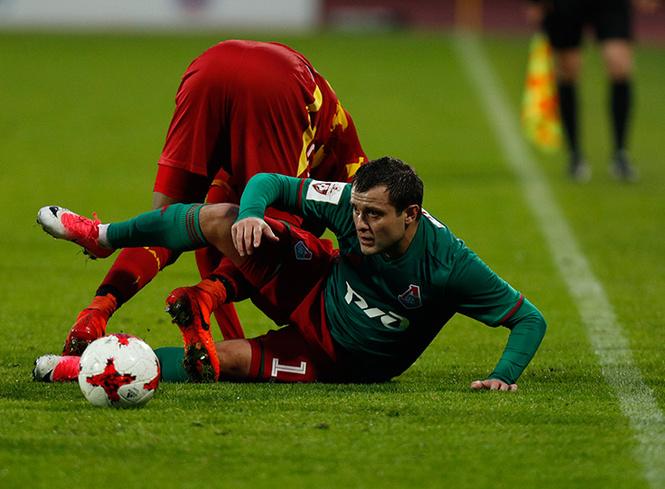 Алан Касаев: «Игра с «Арсеналом» шла до гола»