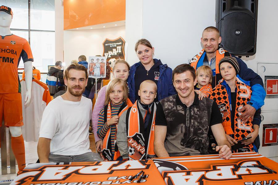 История футбольной семьи из Екатеринбурга