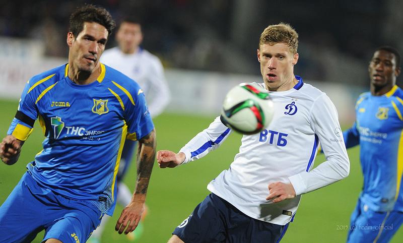 Ростов поднялся на второе место в турнирной таблице