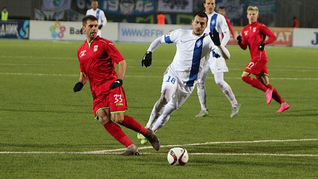 «Уфа» одержала первую победу под руководством Перевертайло
