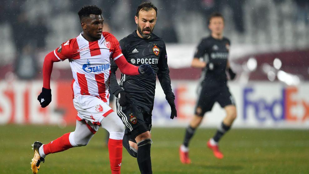 ПФК ЦСКА сыграл вничью в Белграде