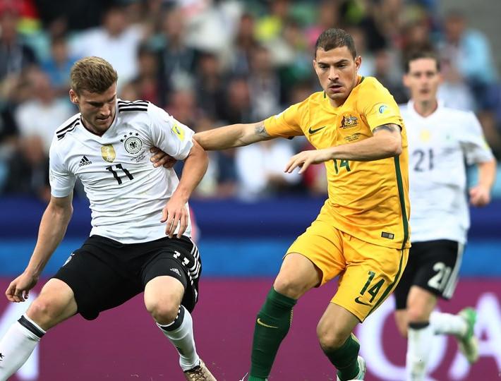 Сборная Германии одержала победу в первом матче