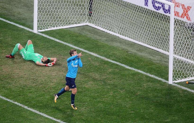 «Зенит» одержал вторую победу в Лиге Европы