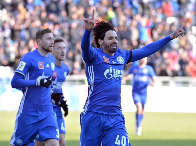 «Оренбург» одержал победу над «Арсеналом»