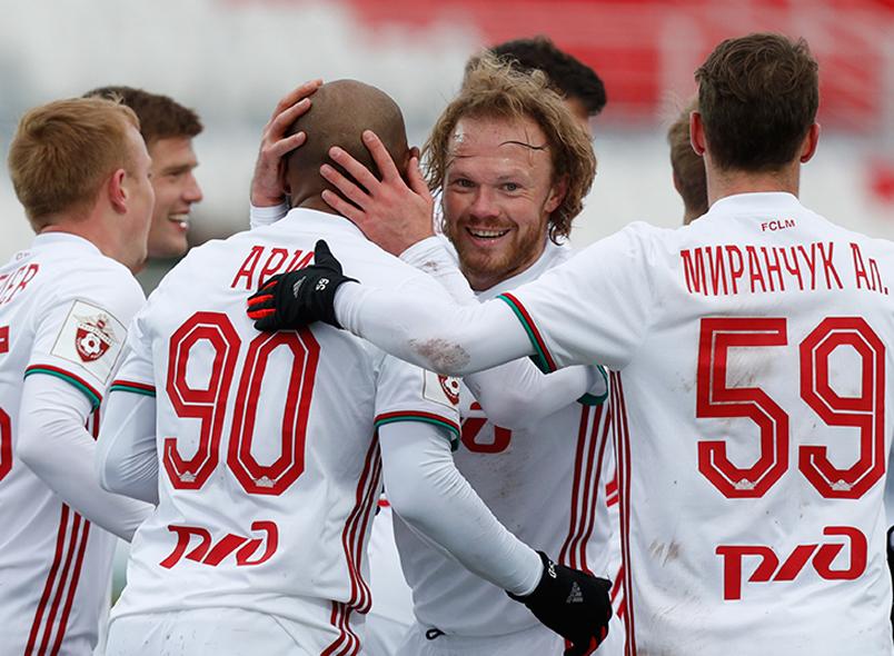 Ари забил дебютные голы за«Локомотив»
