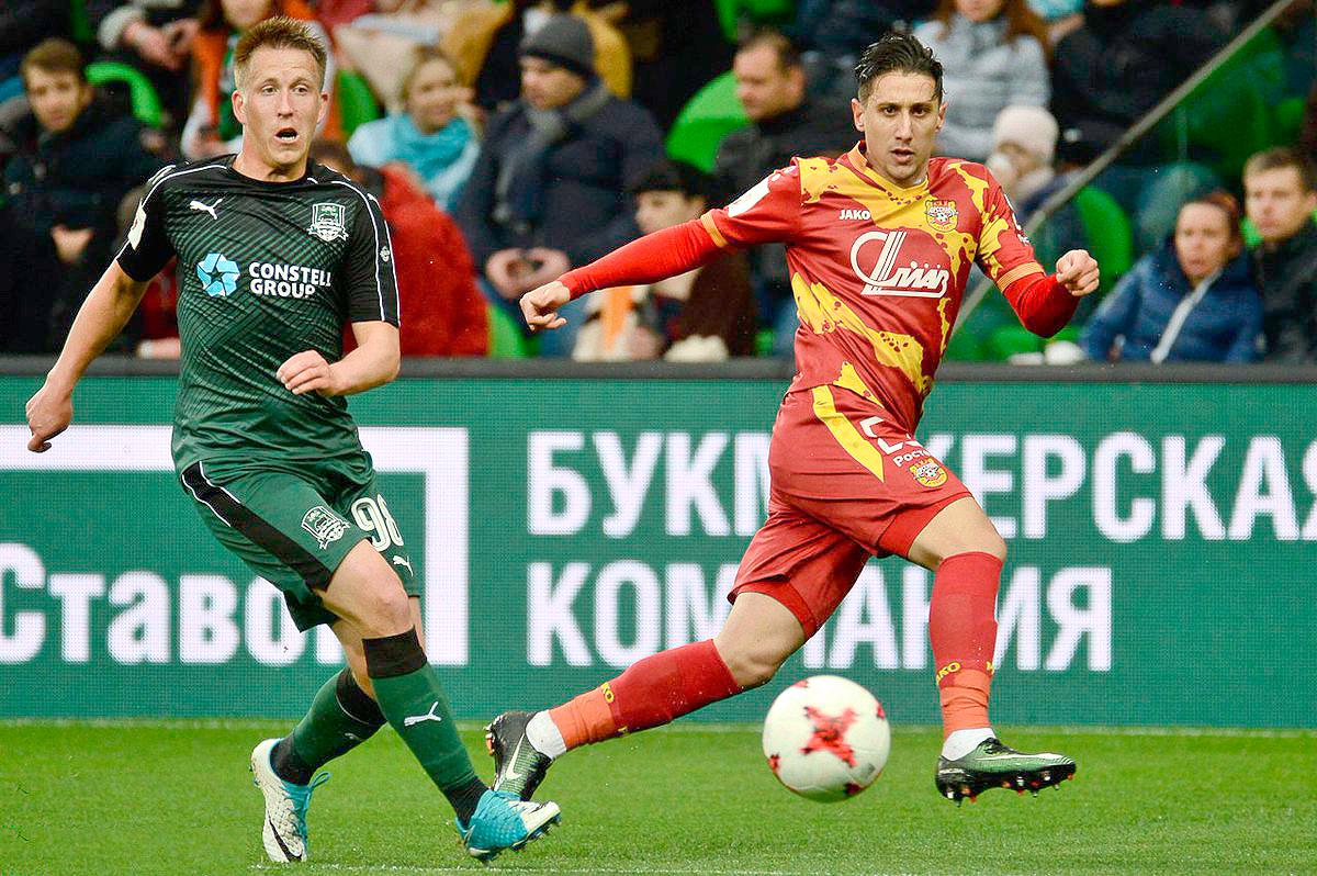 «Краснодар» выиграл у «Арсенала»