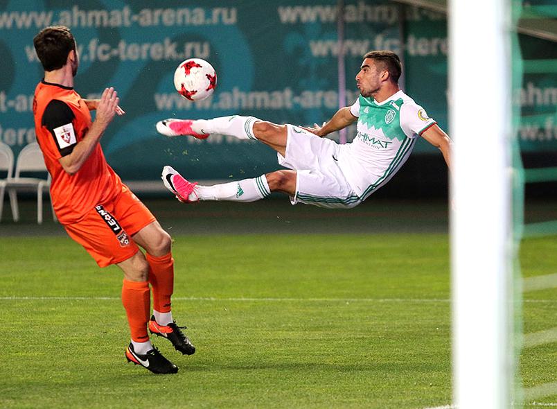 «Урал» без ряда основных футболистов проиграл навыезде «Тереку» вчемпионате Российской Федерации