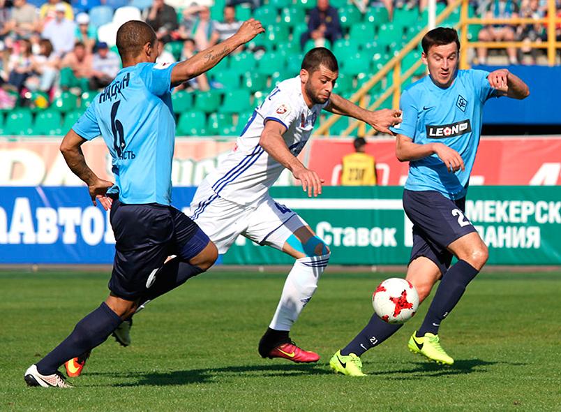 ФК «Оренбург» прошляпил победу вматче с«Крыльями Советов»