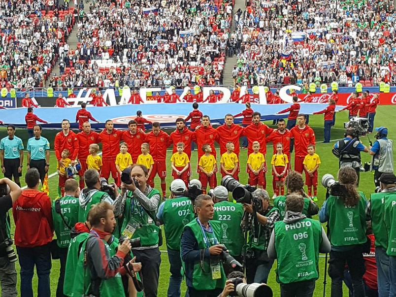 Сборная России завершила выступления в Кубке Конфедераций