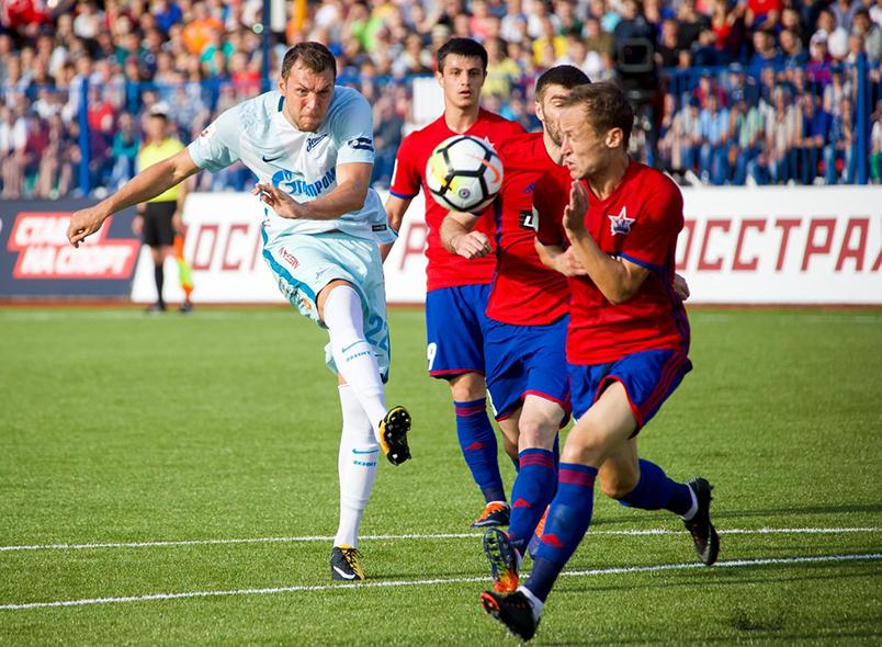 «Зенит» победил «СКА-Хабаровск»