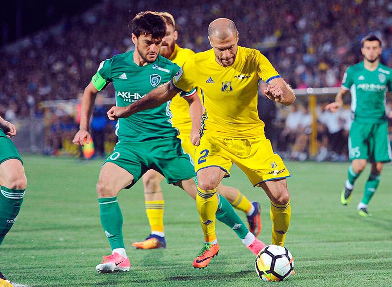 «Ахмат» одержал победу над «Ростовом»