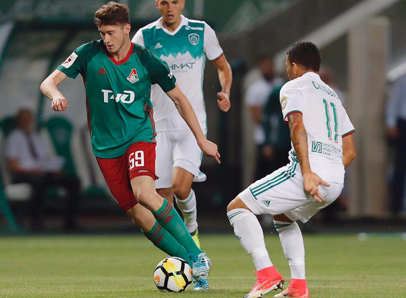 «Ахмат» и «Локомотив» сыграли вничью