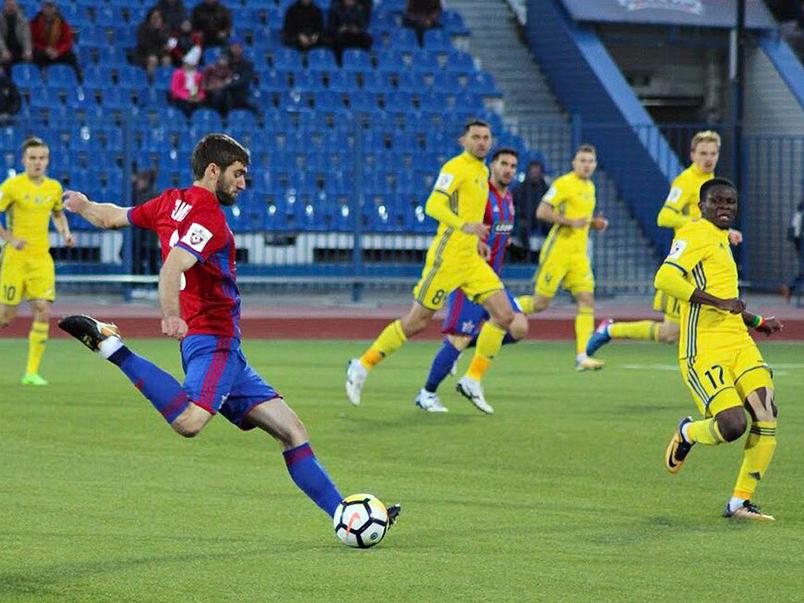 «СКА-Хабаровск» нанёс поражение «Ростову»