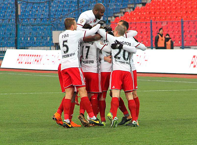 «Амкар» одержал победу в Хабаровске