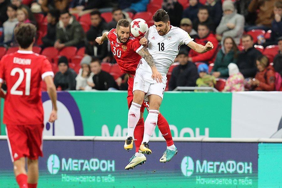 Ничья против сборной Ирана