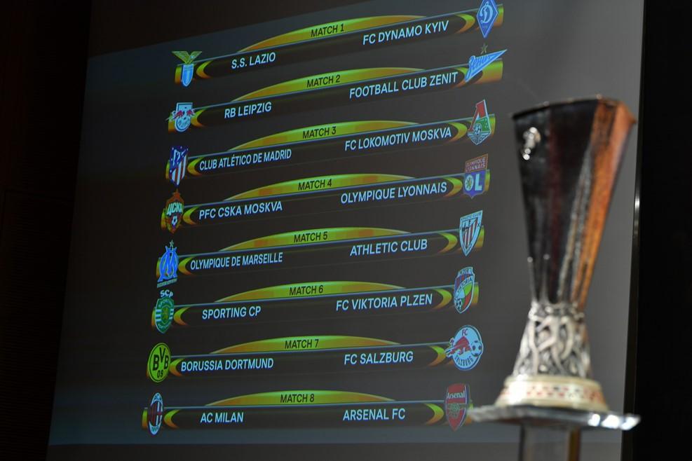 Лига Европы: Соперниками российских клубов стали «Лейпциг», «Атлетико» и «Лион»