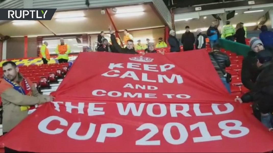 Россияне призвали английских болельщиков приехать на Чемпионат мира в Россию