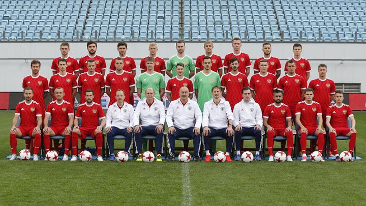 Заявка сборной России на Кубок Конфедераций FIFA 2017