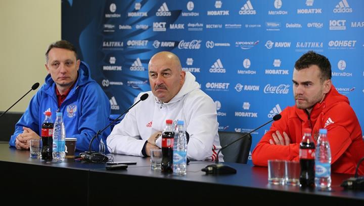 Станислав Черчесов: «Физическая готовность игроков на хорошем уровне»