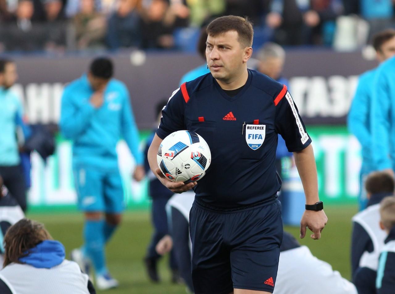 Московское дерби рассудит Михаил Вилков
