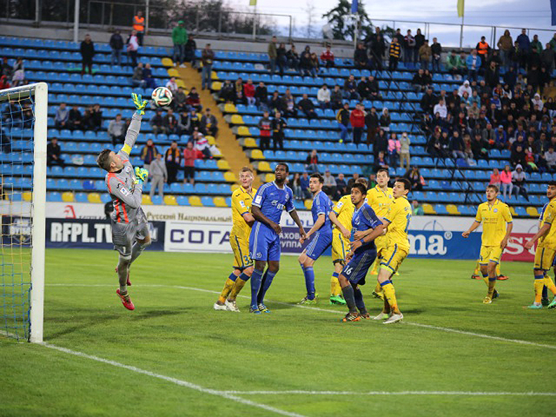 «Динамо» одержало победу над «Ростовом»