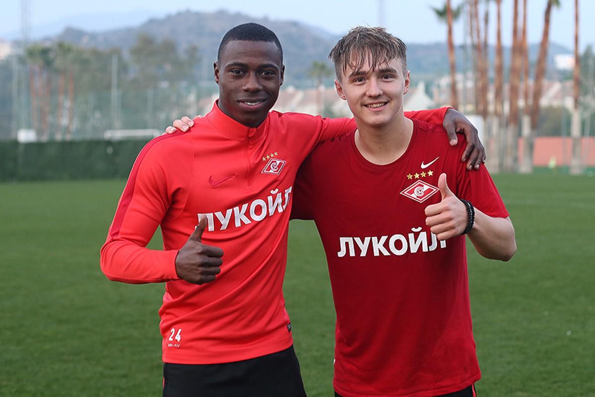 Квинси Промес и Денис Давыдов