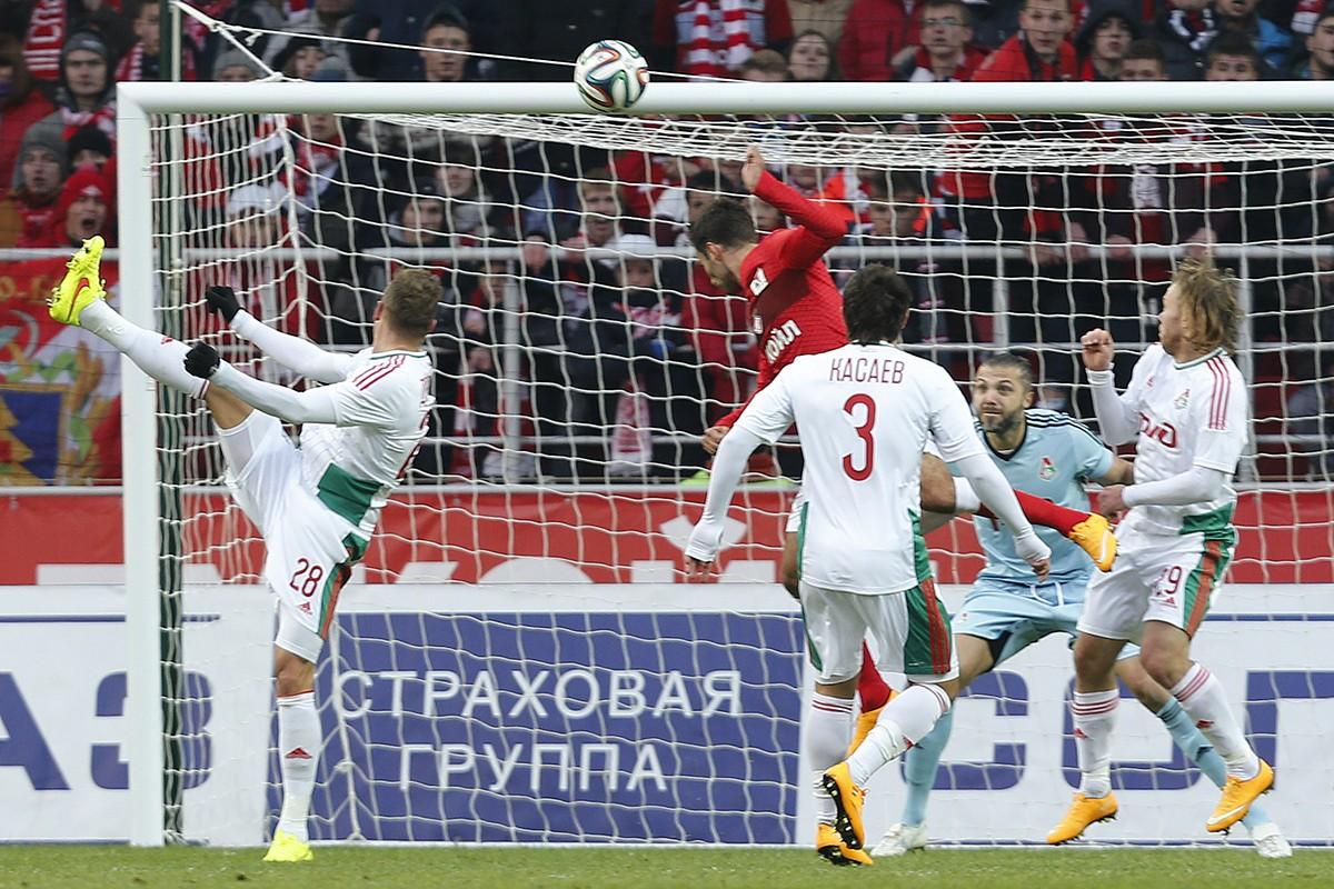 Пятёрка самых посещаемых матчей РФПЛ